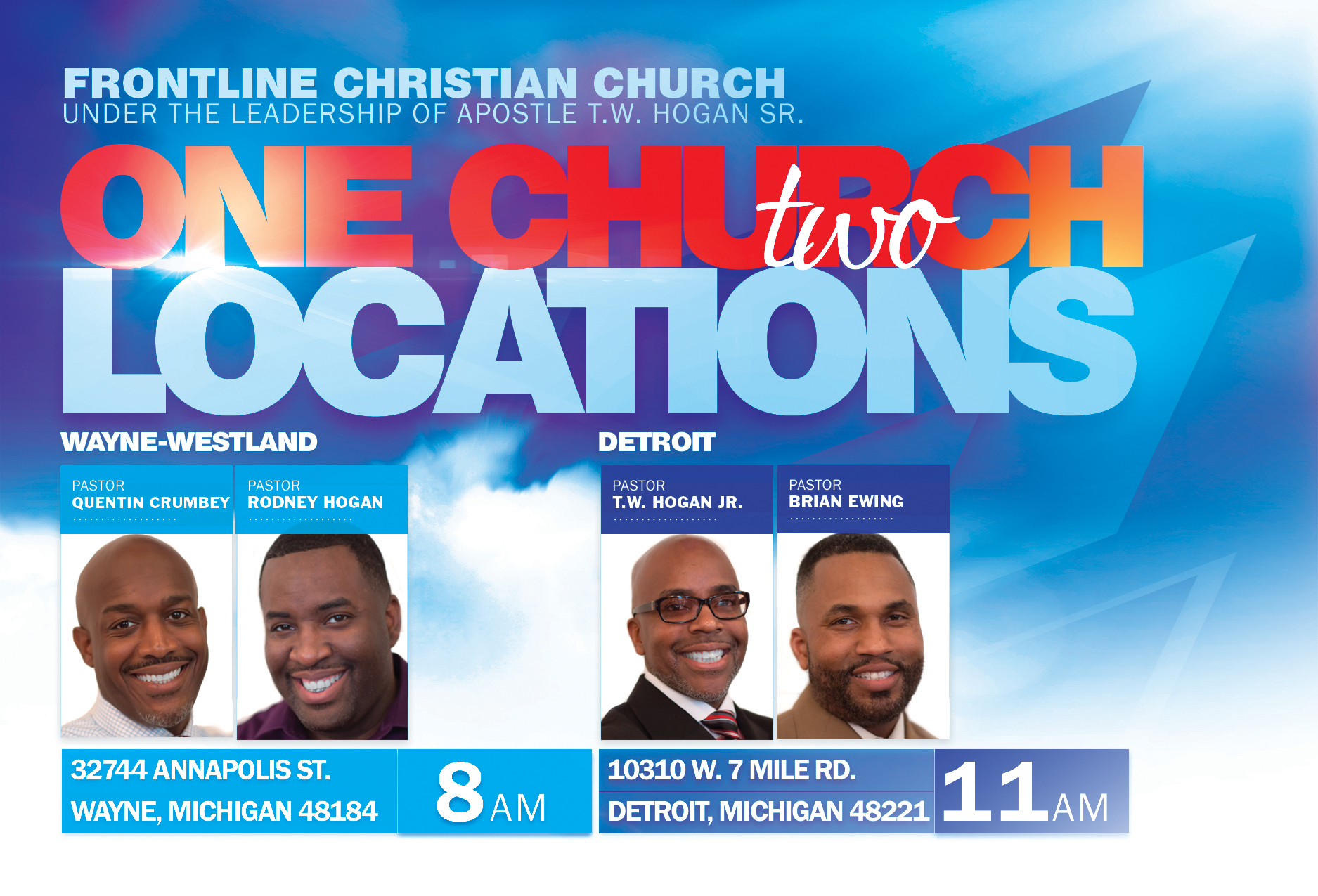 One Church Two Locations